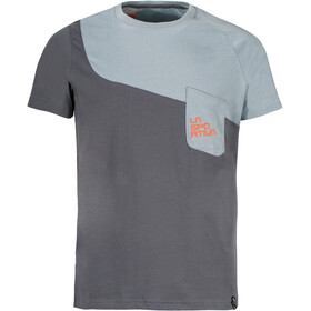 La Sportiva Climbique T-Shirt Men Slate/Stone Blue
